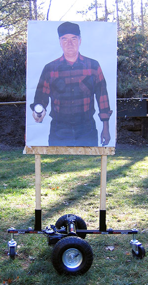 MotoShot Portable Moving Target Systems for Paper Shooting Targets