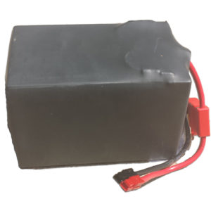 MotoShot SLA 12V12AH Rechargeable Battery with wire harness